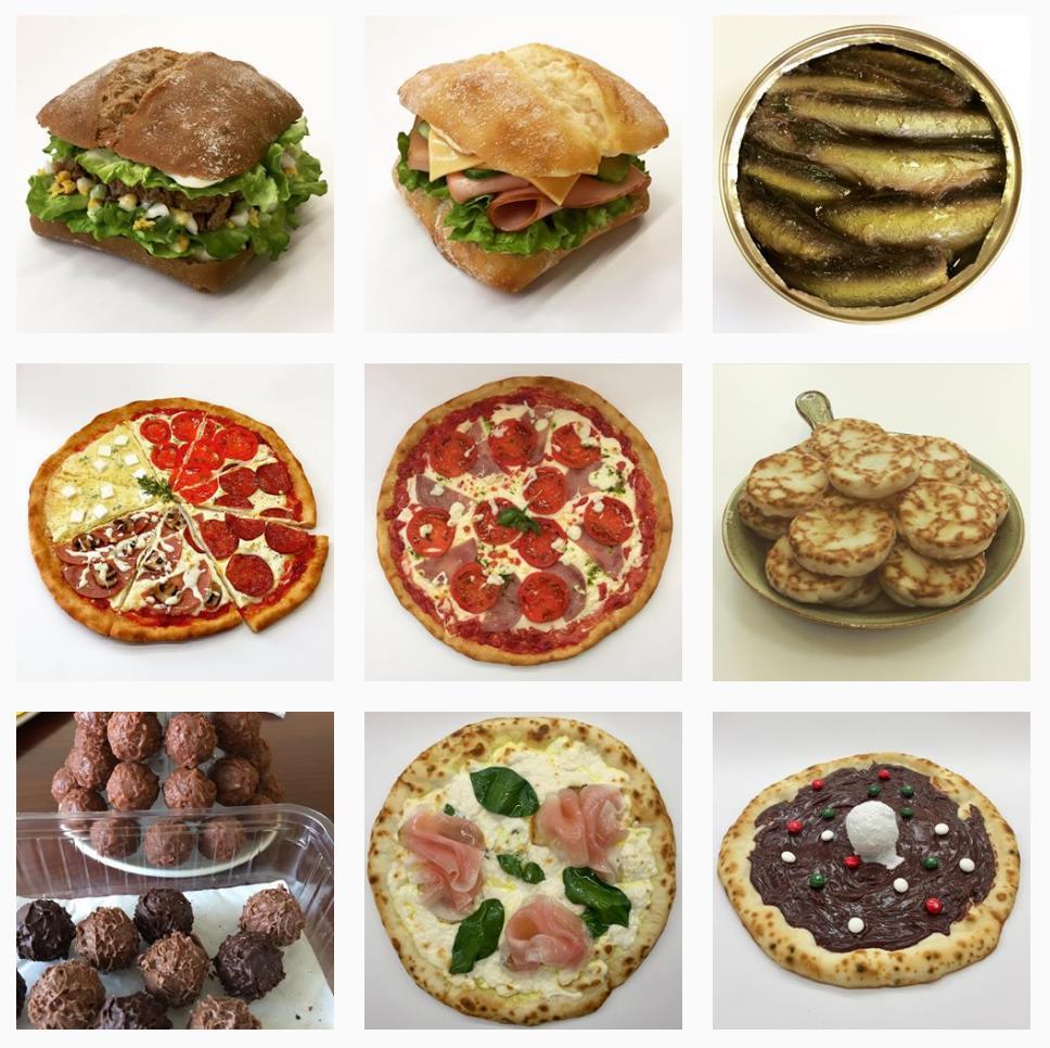 Инстаграм про муляжи блюд